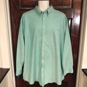 Stafford Wrinkle-Free Oxford Button Down Size 18